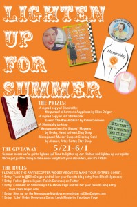 Details of Summer Giveaway